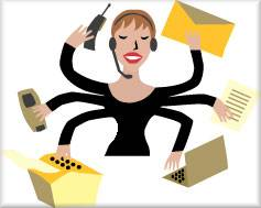 Image result for busy woman