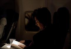 reading passenger