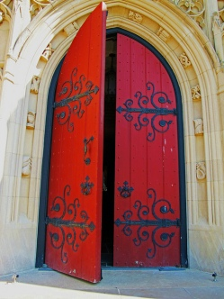 church door by Rodney Campbell