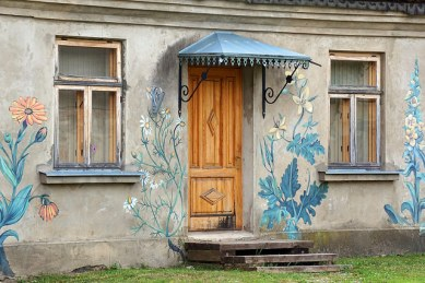 Door Kuldiga Latvia by Martin Konopacki