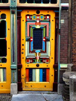door of colour by Tim van Kempen