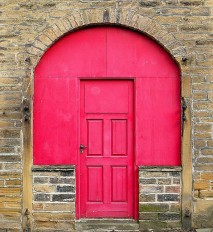 red door by Tim Green
